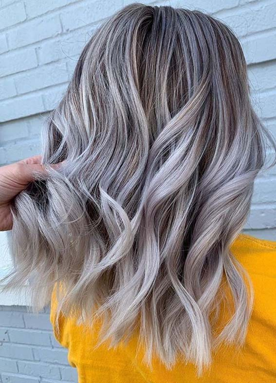 Glorious ashy blonde hair color Shades for Women 2020