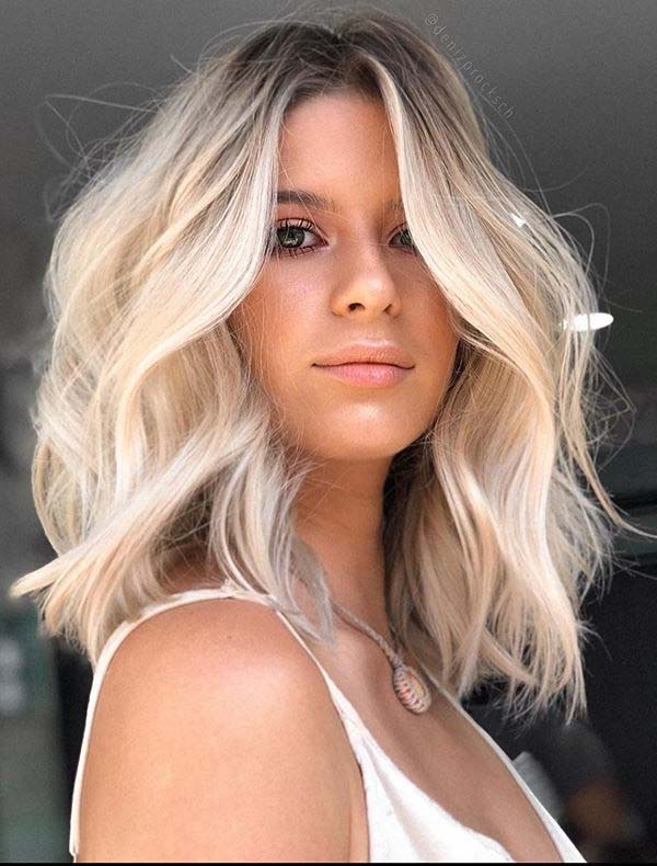 Perfect Blonde for Medium Haircuts for Women in 2020