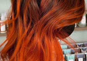 Gorgeous Orange Balayage Hair Color Ideas for Girls in 2020