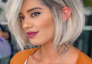 Lovely Mid Length Hair Color & Haircuts for 2021