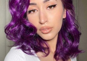 Fantastic Purple Hair Color Shades to Show Off