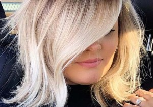 Lovely Contrast in Blonde Hair Colors to Follow