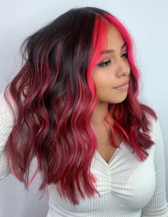 Unique & Hot Pink Highlights for 2021 Young Girls