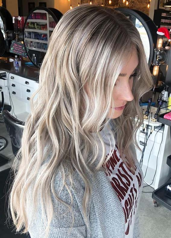 Awesome Blonde Babylights Hair Color Trends