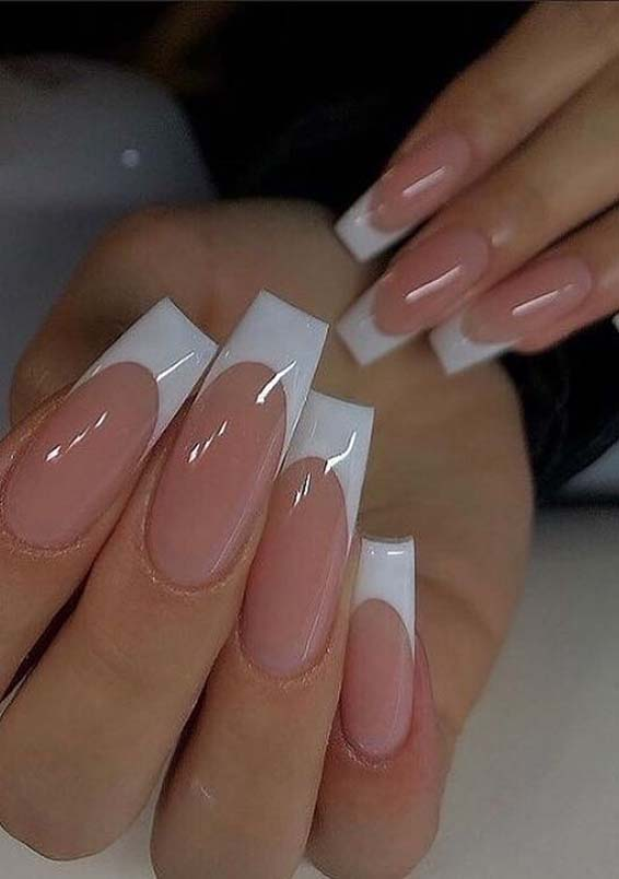 Stunning French Nail Arts for Girls