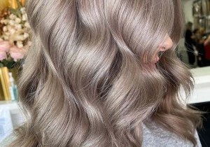 Modern Ash Blonde Hair Color Shades for Girls