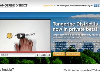 Tangerine District – værktøjskassen til din startup