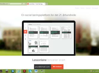 Lessonlane – en social læringsplatform for det 21. århundrede
