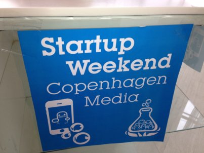 Startup Weekend Copenhagen Media er klar-parat-start