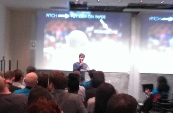 40 idéer blev pitchet fredag aften i København