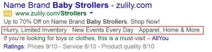 adwords-callout-extensions-baby-strollers