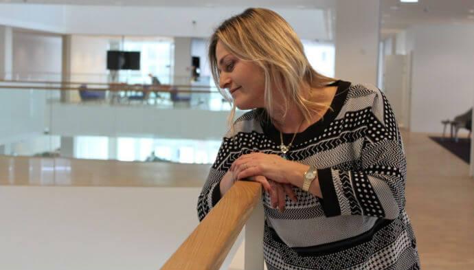 Anette Nørgaard fra Microsoft: Jeg kan ikke arbejde i en lille kasse