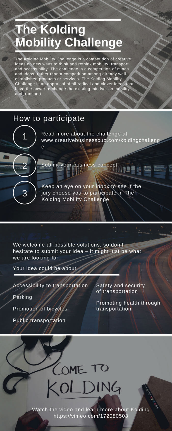 The Kolding Mobility Challenge - infographic (1)