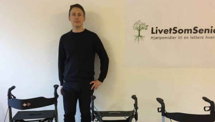 Startup satser på de ældre online