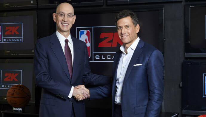 NBA ind i eSport: Skaber officiel eSports-liga med 2K Sports