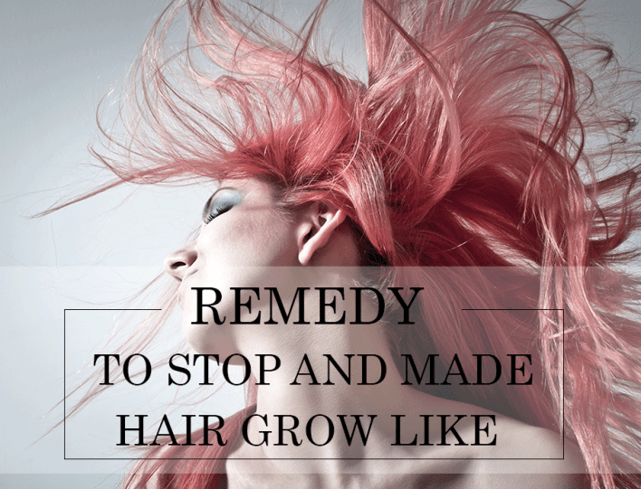Remedy To Stop And Made Hair Grow Like Crazy