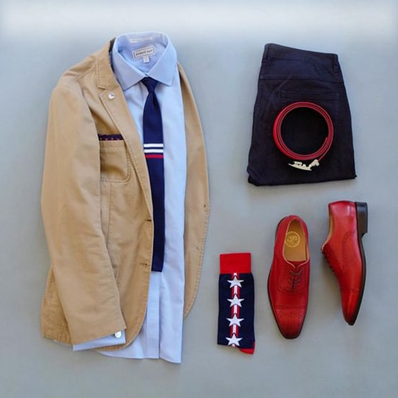 jacket, shoes. Combos