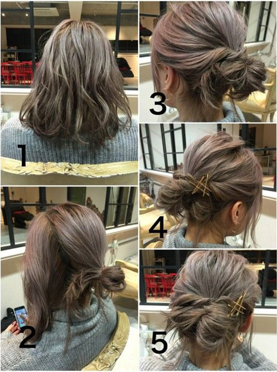 10-10 Updos tutorials on pinterest to Look Stunning