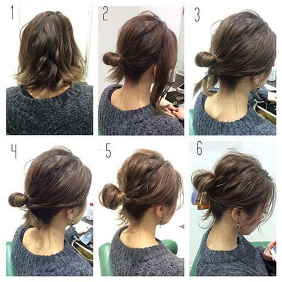 3-10 Updos tutorials on pinterest to Look Stunning