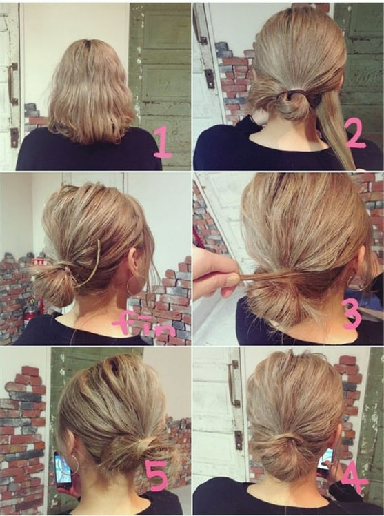 9-10 Updos tutorials on pinterest to Look Stunning