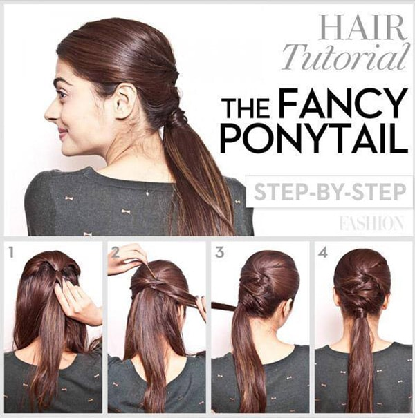 5 Super Easy Hair Tutorials For All Us Lazy Girls