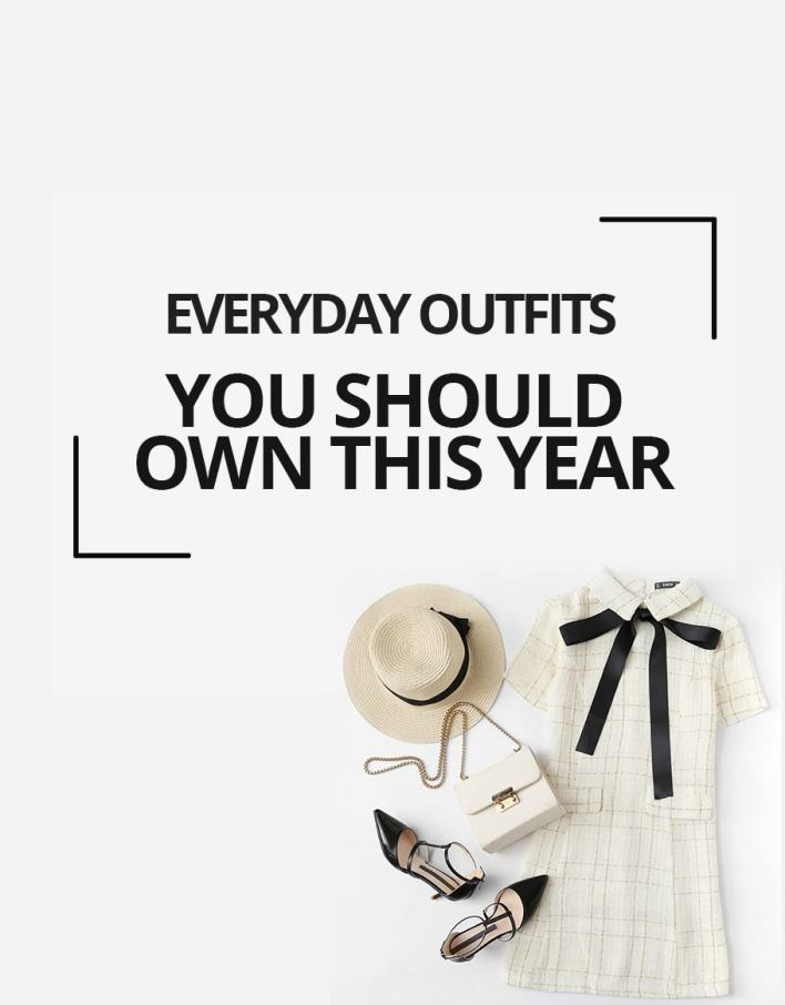 Everyday Outfits You Should Own this year