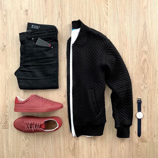 Top Black Outfits combination For Real Men 10