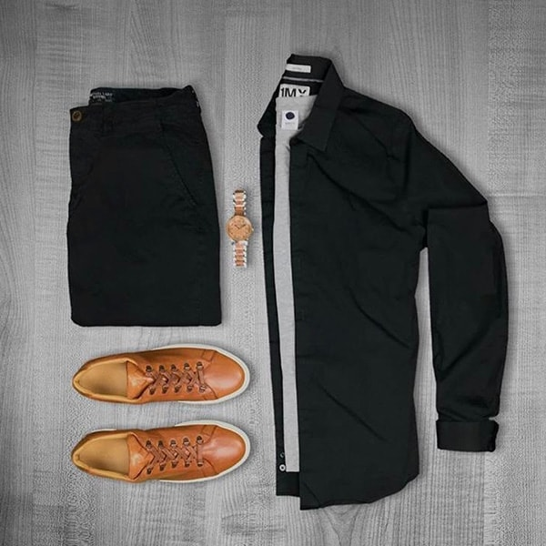 Top Black Outfits combination For Real Men 3