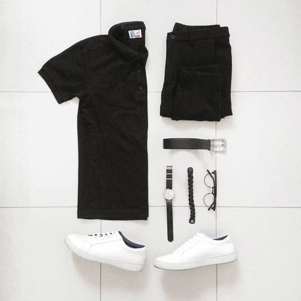 Top Black Outfits combination For Real Men 5