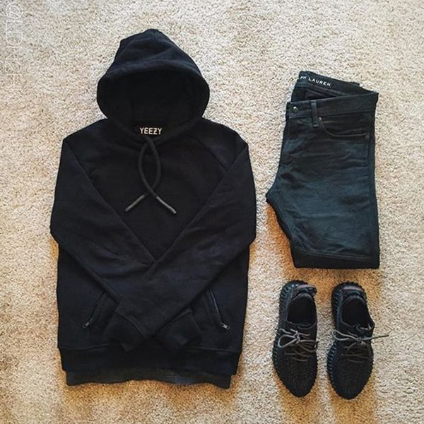 Top Black Outfits combination For Real Men 8