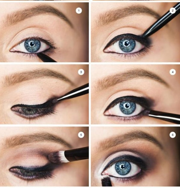 2-Makeup Step By Step For Blue Color Eyes!