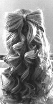 hair style ideas- bow
