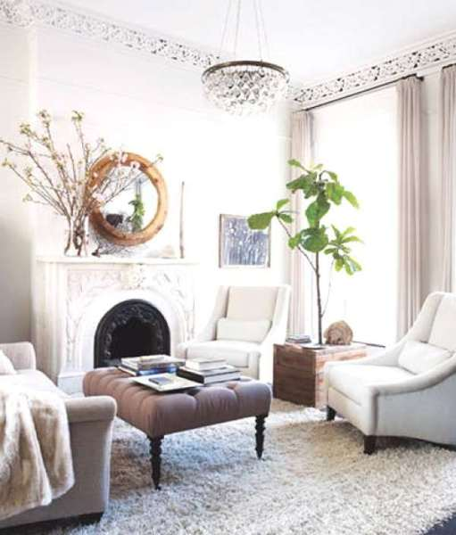 elle decor living room ideas Interior Decoration Refresh- The 5 Easy Small Changes
