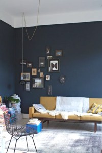Easy DIY- Paint One Blue Wall  TrendSurvivor