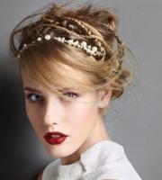 trendy updo hairstyles winter