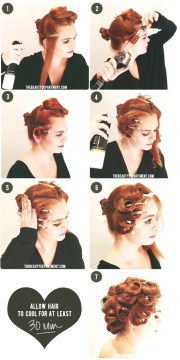 holiday hairstyle ideas retro