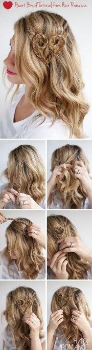 valentine day hairstyle