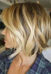 beach wave bob hairstyles