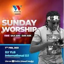 DJ YLB – Amapiano Gospel Mix Mashup (WASAFI FM Sunday Worship)