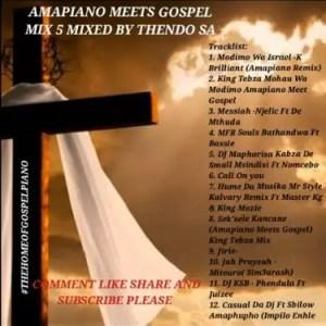 Thendo SA – Amapiano Gospel Mix Download Mp3
