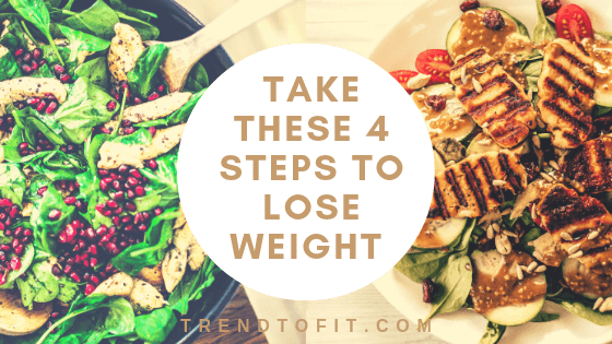 4 steps to lose weight naturally