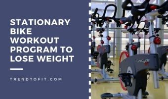 stationary bike workout for weight loss