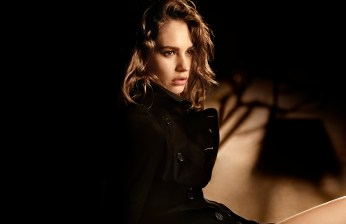 Lily James, My Burberry Black