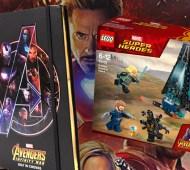 Avengers LEGO Notebook