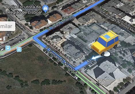 Google Maps iPhone Carros