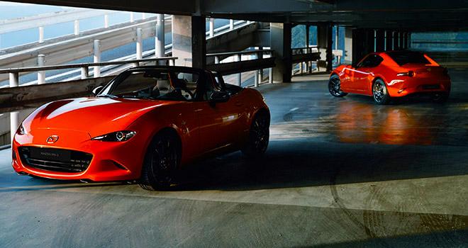 Mazda MX-5 Racing Orange