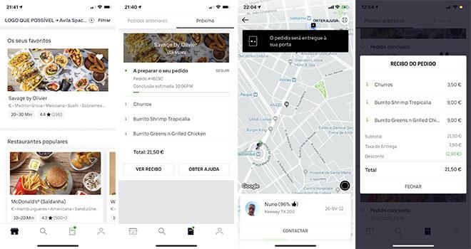 Savage Uber Eats App Pedido