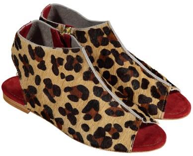 Maray Bootie Sandal Leopard