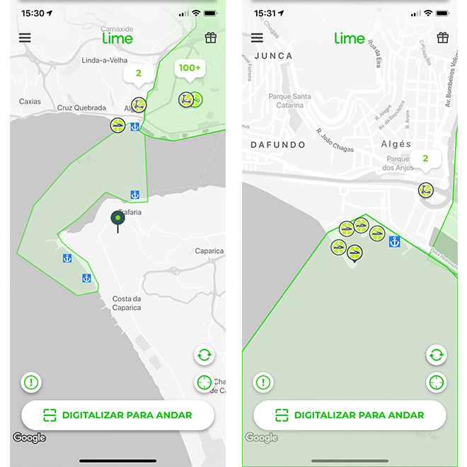 Lime Jetski App