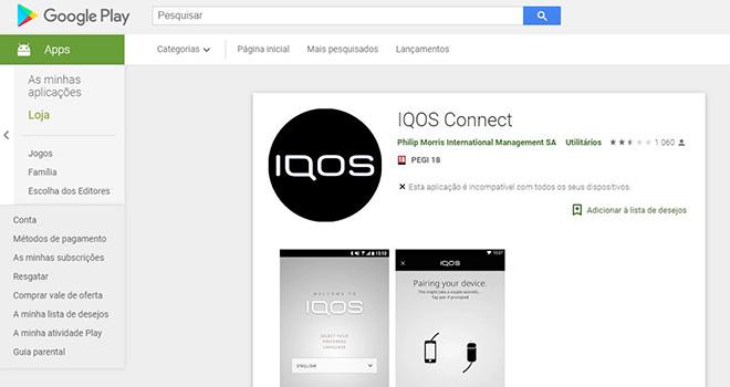 IQOS Connect: como ligar a sua máquina a um smartphone Android para